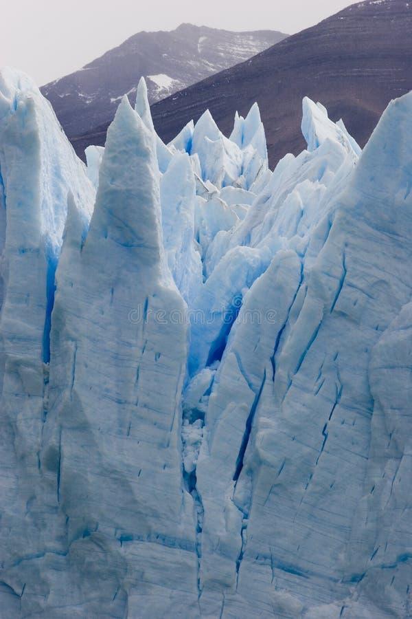 De gletsjer van Moreno van Perito stock fotografie