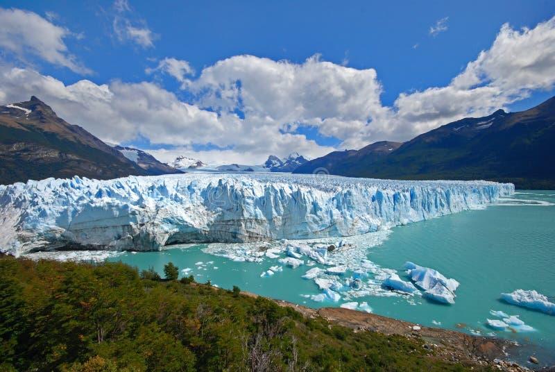 De gletsjer van Moreno van Perito royalty-vrije stock afbeelding