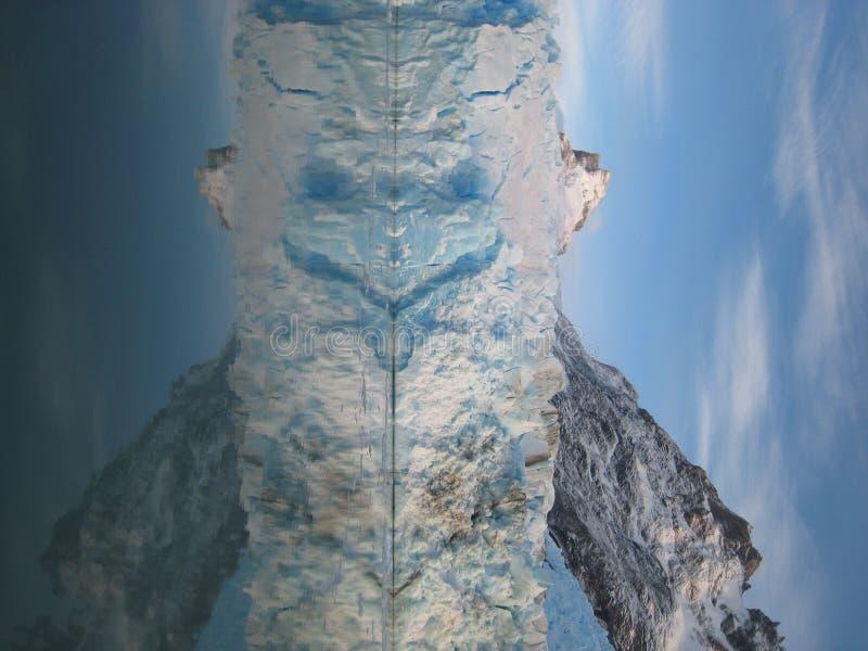 De Gletsjer van Spegazzini royalty-vrije stock afbeelding