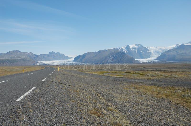 De gletsjer van Vatnajokul royalty-vrije stock fotografie