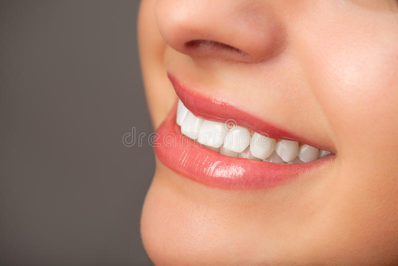 De glimlach van een vrouw