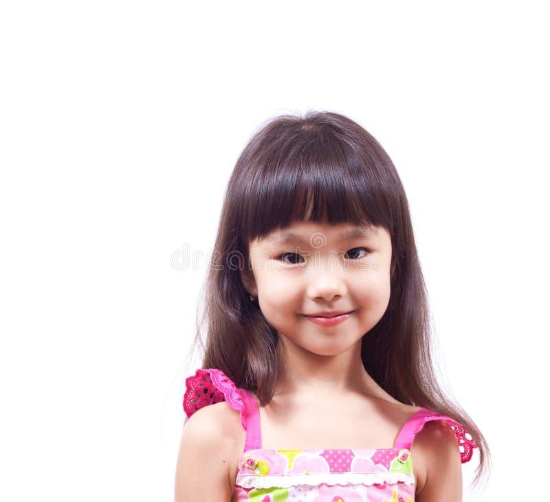 De glimlach van het meisje royalty-vrije stock afbeelding
