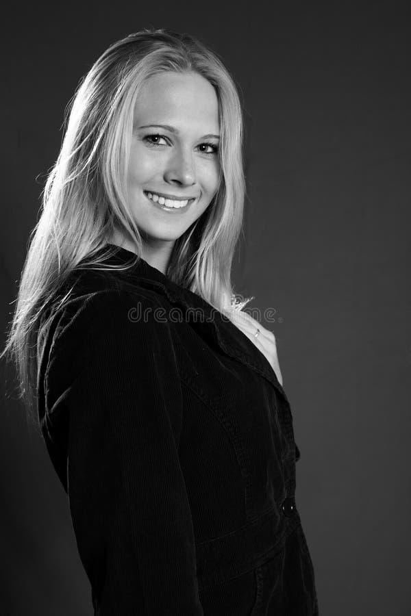 De Glimlach van Nice royalty-vrije stock afbeeldingen