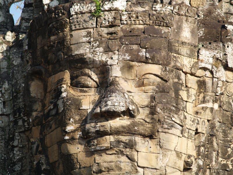 De glimlachen van Boedha bij u stock afbeelding