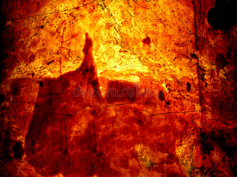De gloed van de lava royalty-vrije stock foto's