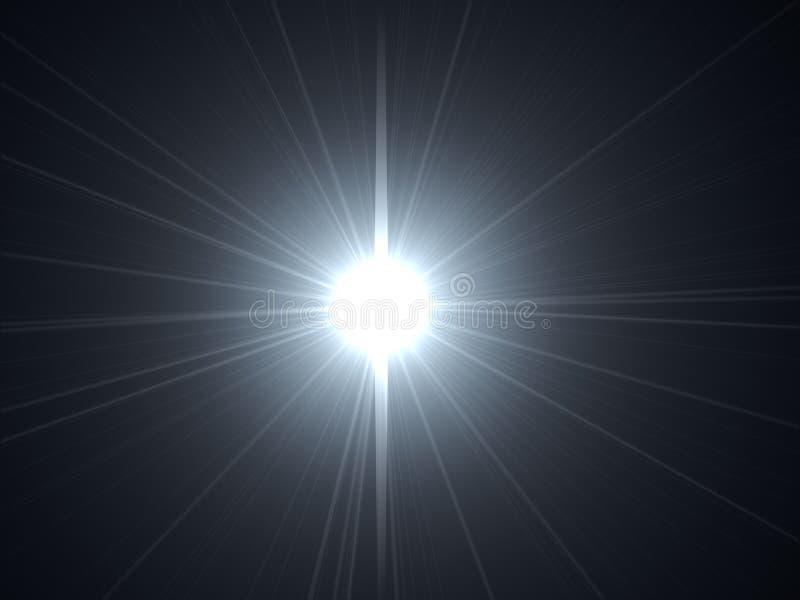 De gloed van de lens vector illustratie