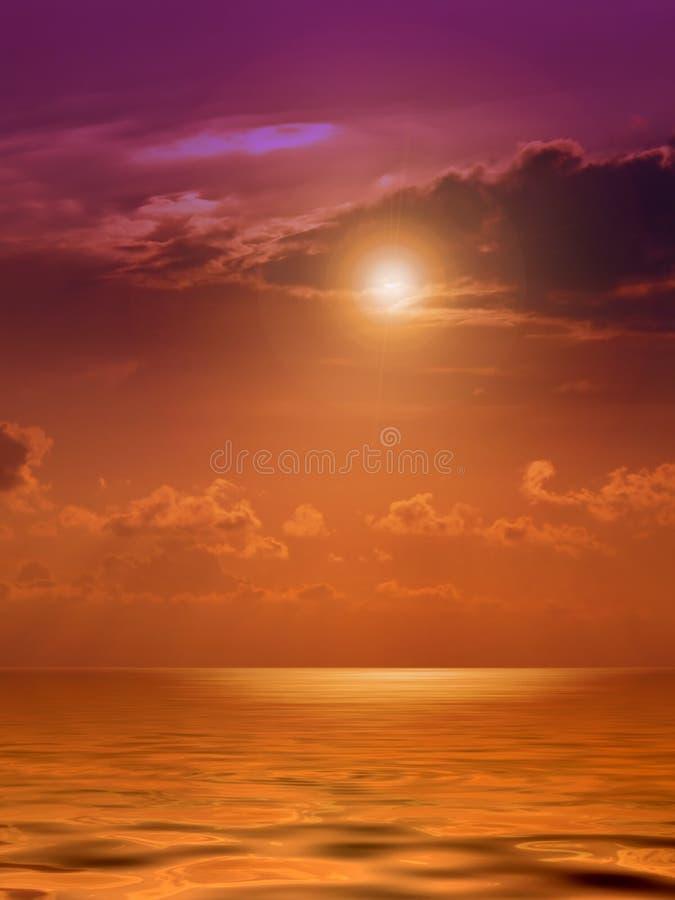 De Gloed van de zon royalty-vrije stock foto