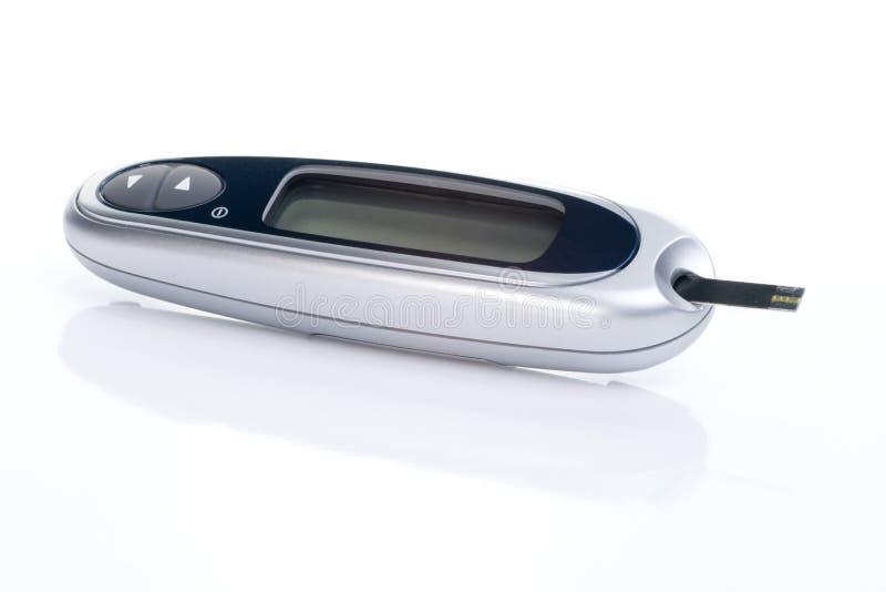 De glucose die van het bloed syste controleert royalty-vrije stock foto's