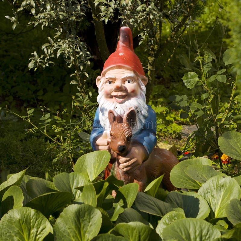 De gnoom van de tuin stock afbeelding