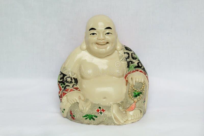 De God van rijkdom, Hotei stock fotografie
