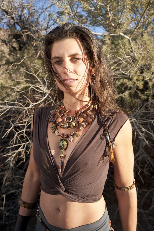 De Godin van de woestijn stock foto's