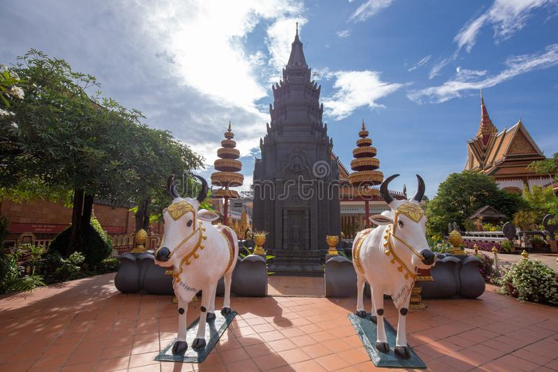 De godsdienstige Tempel van Preah Prom Rath van de plaatsnaam royalty-vrije stock fotografie
