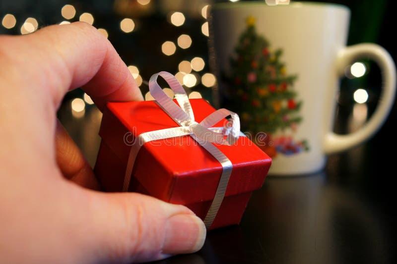 De goede dingen komen in kleine pakketten royalty-vrije stock afbeelding