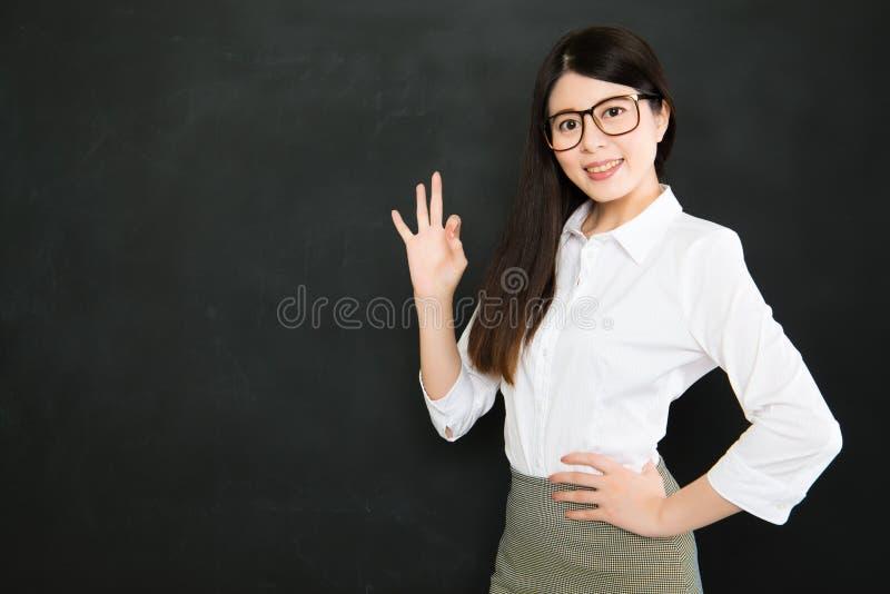 De goede leraren weten het hoe te om het beste in studenten uit te brengen royalty-vrije stock foto's