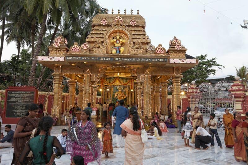 De Gokarnanatheshwara-Tempel, in Kudroli, Mangalore in Karnataka, India stock fotografie