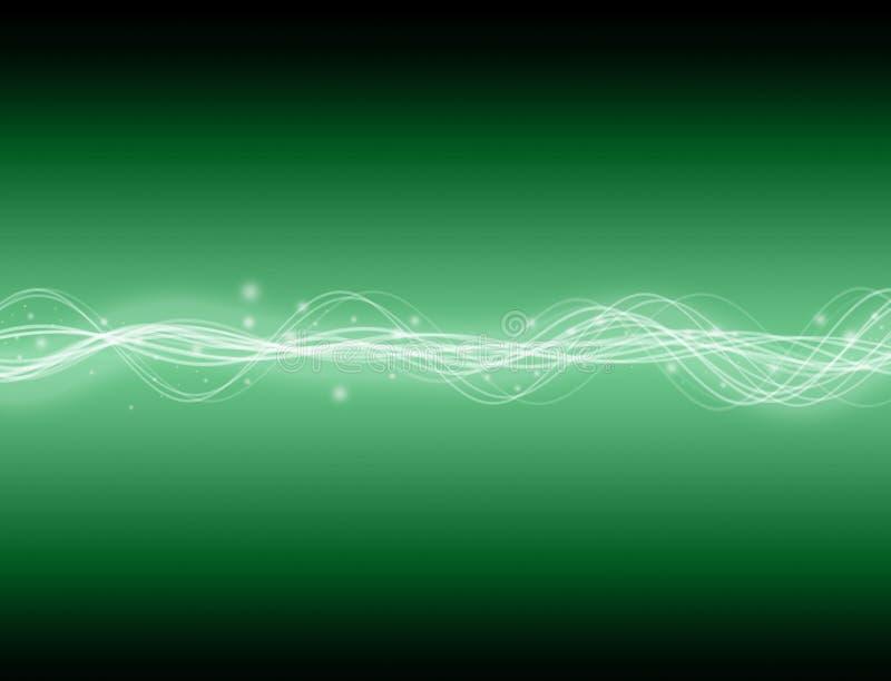 De Golf van de energie royalty-vrije illustratie