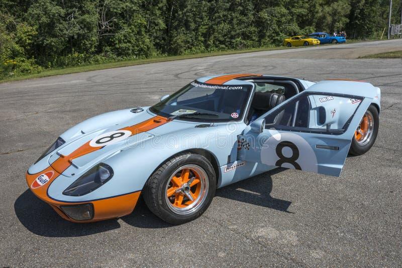 De golf van Ford GT royalty-vrije stock foto's