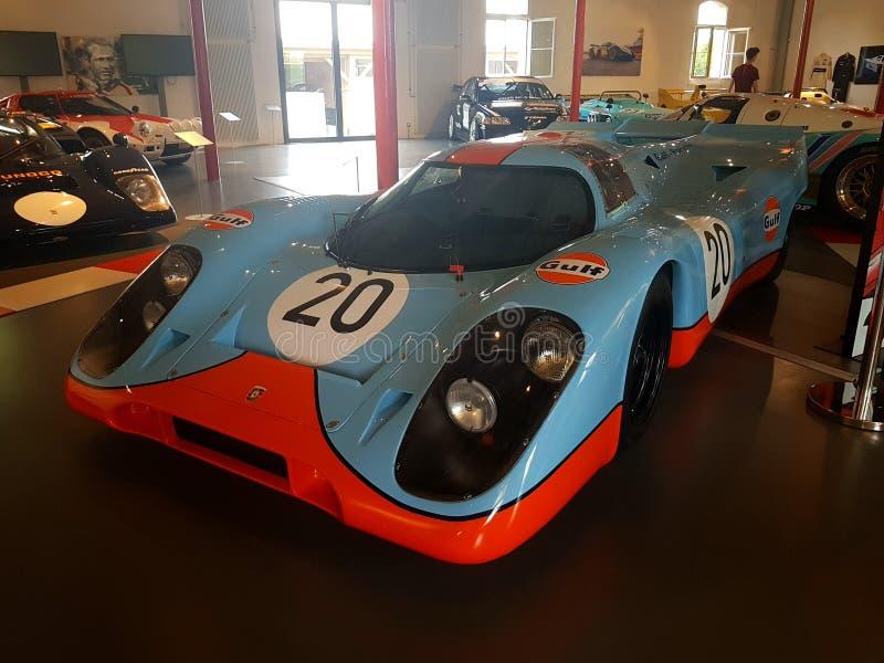 De Golf van Porsche 917k royalty-vrije stock afbeeldingen