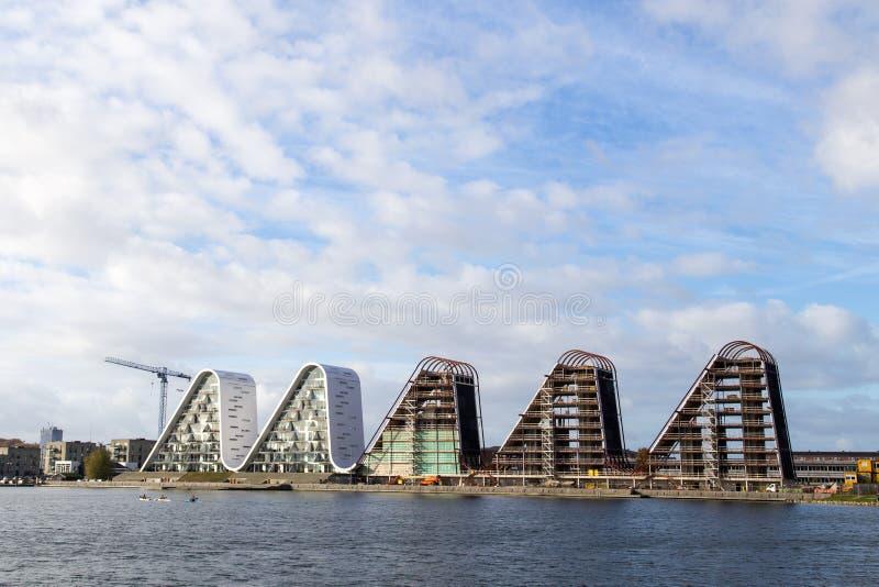 De Golf in Vejle, Denemarken royalty-vrije stock foto's