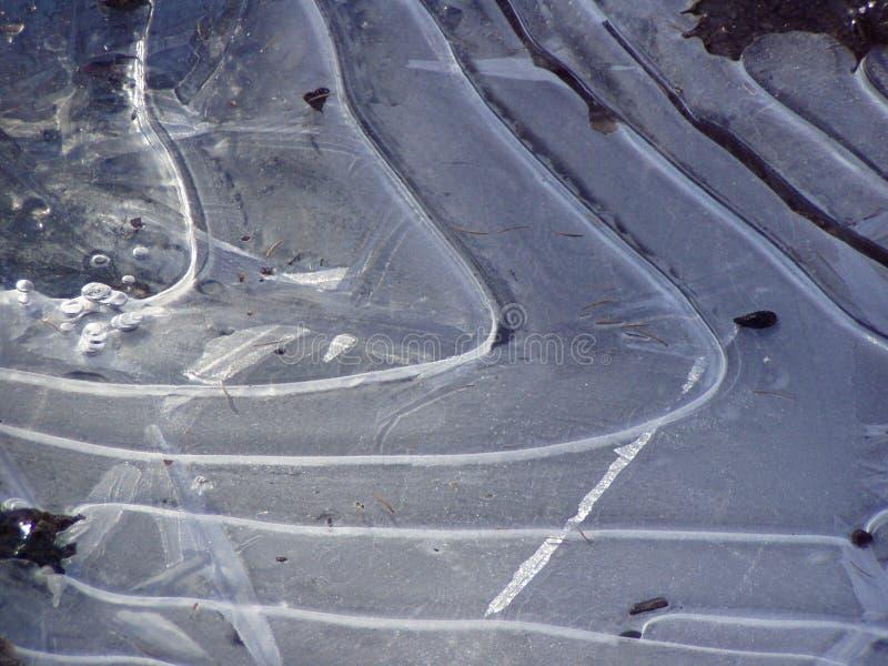 De Golven van het ijs stock afbeelding