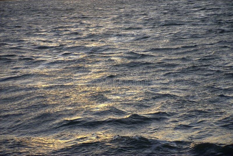 De golven van het water stock fotografie