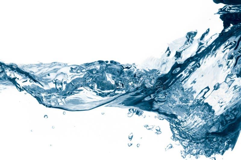 De golven van het water stock afbeeldingen
