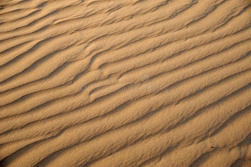 De golven van het zand royalty-vrije stock foto