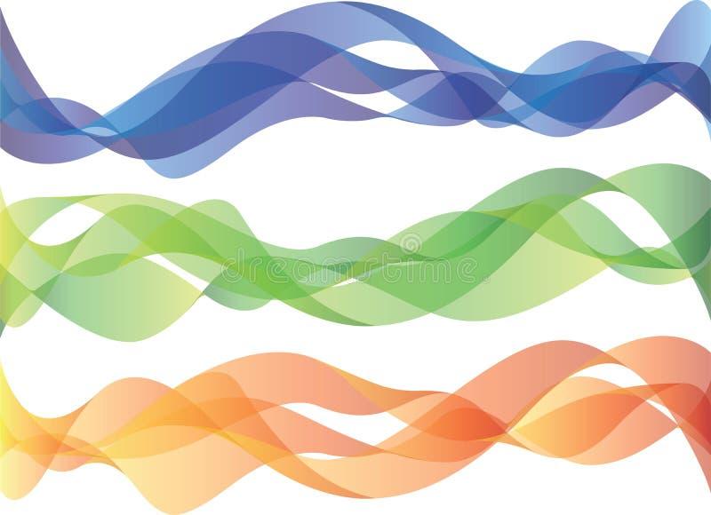 De golven van Smokey vector illustratie