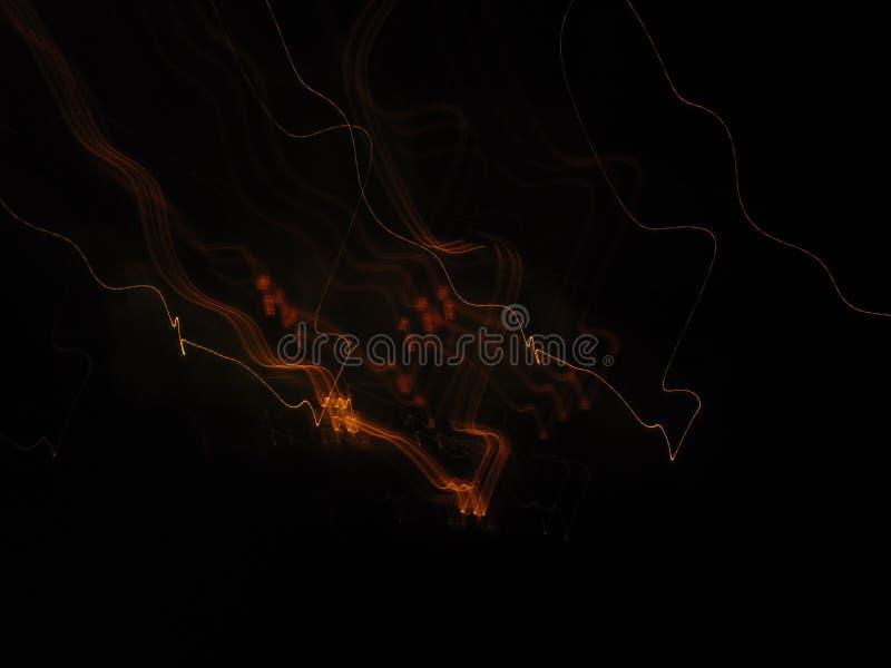 De golvende vlamlijn stock fotografie