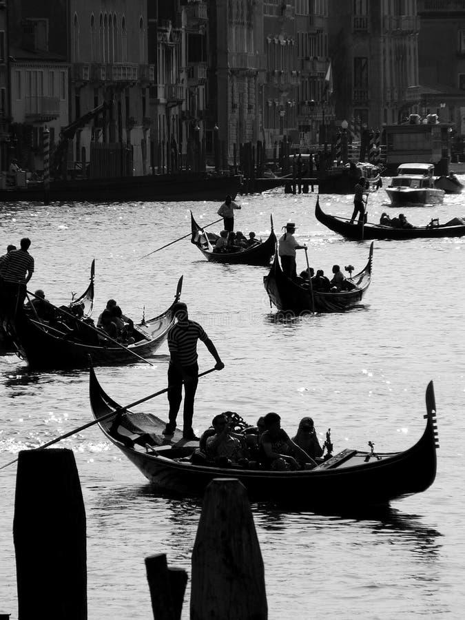 De Gondel van Venetië stock afbeeldingen