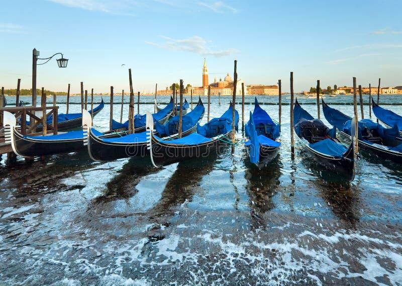 De gondels van Venetië royalty-vrije stock foto's