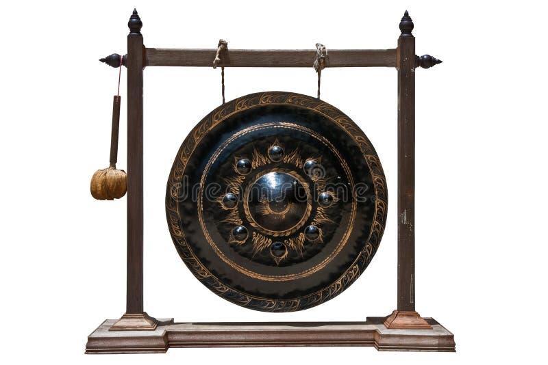 De gong van Lanna stock afbeeldingen