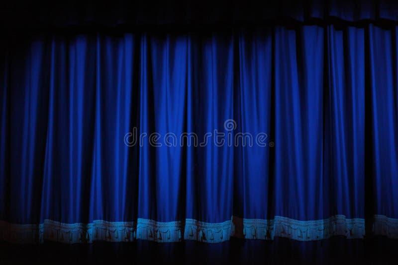 De Gordijnen van het theater royalty-vrije stock fotografie