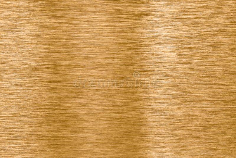 De gouden achtergrond van de metaaltextuur stock afbeelding