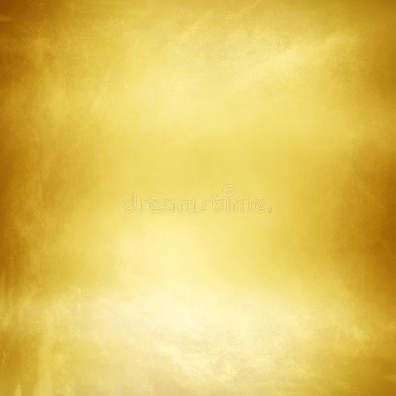 De gouden achtergrond van de Metaaltextuur