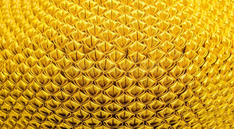 De gouden achtergrond van het textuurpatroon stock fotografie