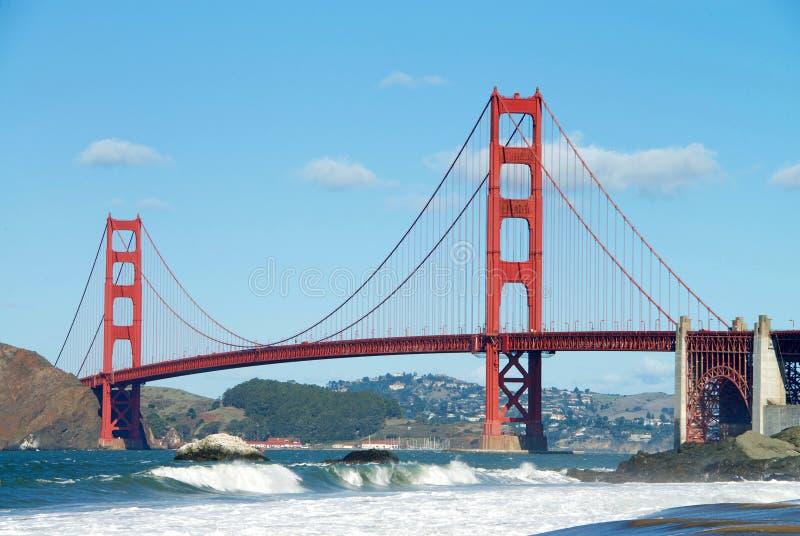 De gouden Brug van de Poort, San Francisco stock foto