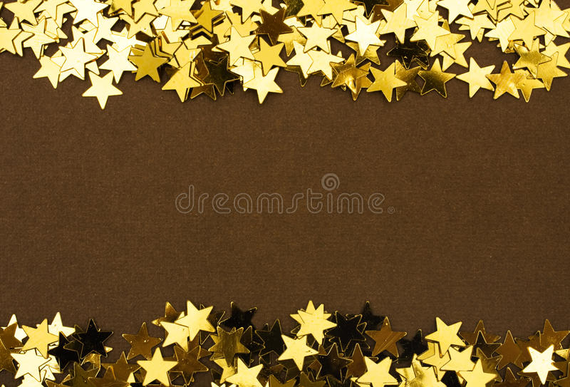De gouden Grens van de Ster royalty-vrije stock afbeeldingen