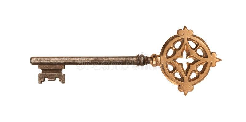 De Gouden Loper van Ornated met het Knippen van Weg royalty-vrije stock foto's