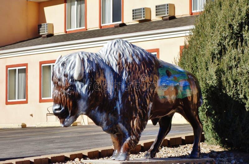 De Gouden Spoedstad van Custer in de Zwarte Heuvels van Zuid-Dakota stock foto