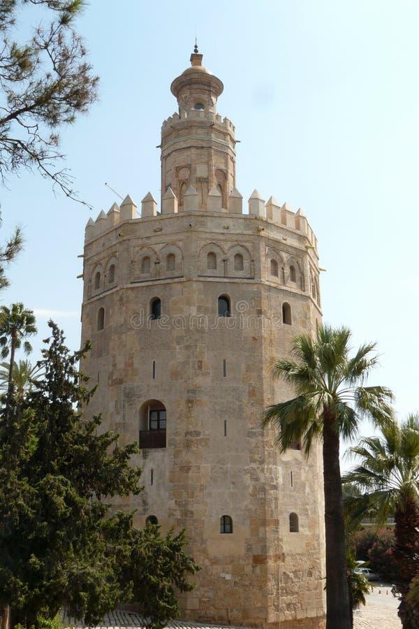 De gouden Toren stock afbeeldingen