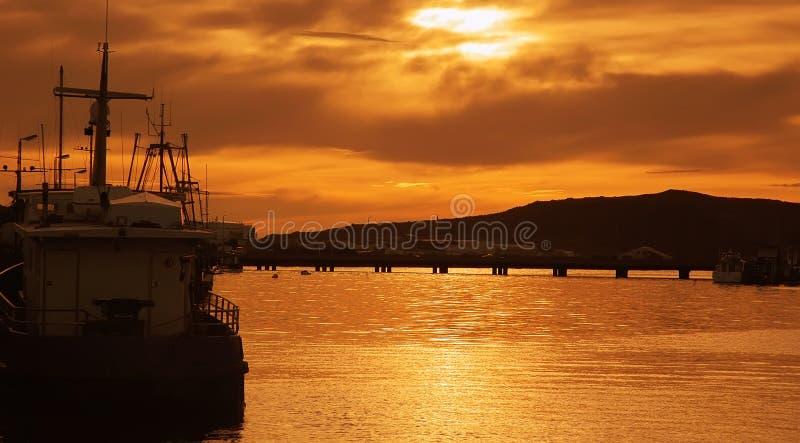 De gouden zon stock afbeeldingen