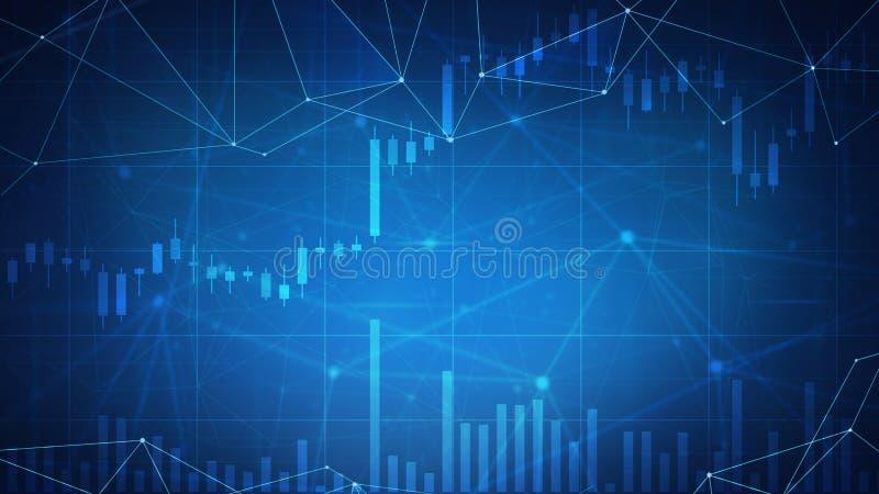 Download De Grafiek Van De Cryptocurrencyvoorraad Op Futuristische Hudbanner Stock Illustratie - Illustratie bestaande uit handel, geld: 107708825