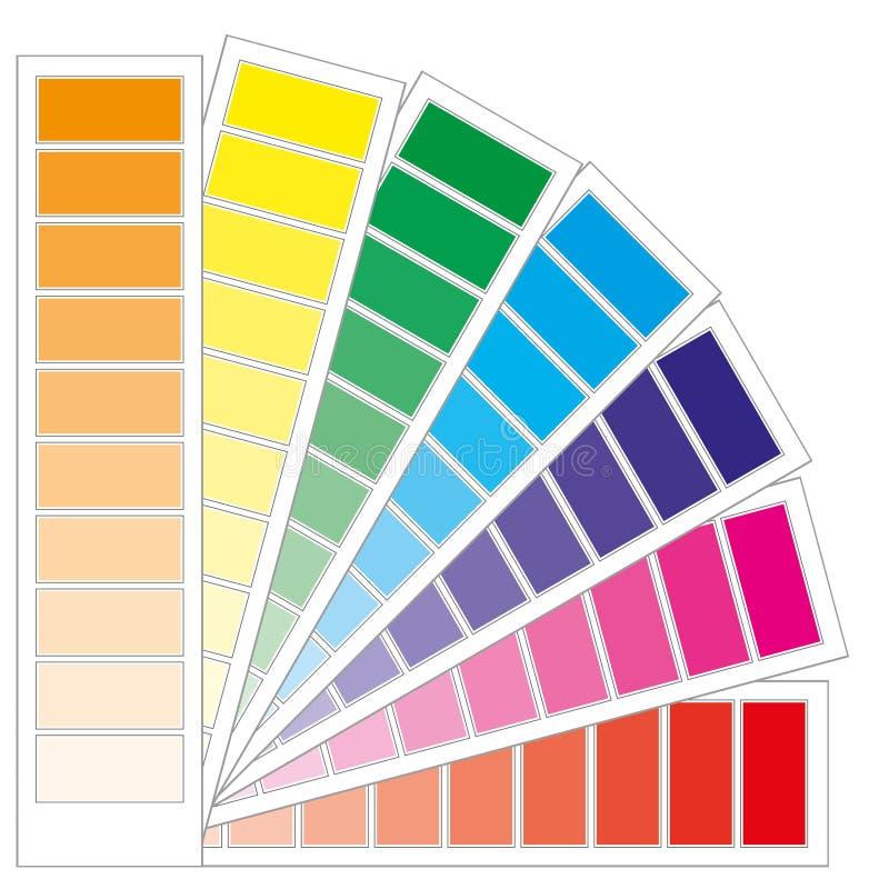 De grafiek van de kleur royalty-vrije illustratie