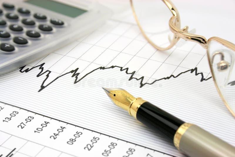 De grafiek van de voorraad royalty-vrije stock afbeelding