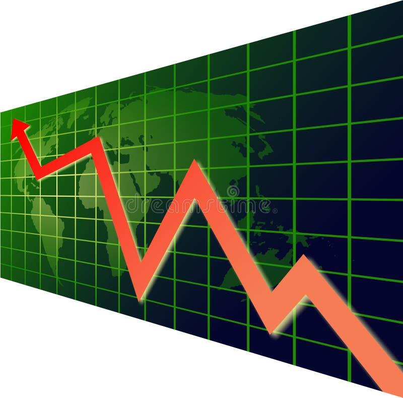 De Grafiek Van De Wereld Royalty-vrije Stock Foto's