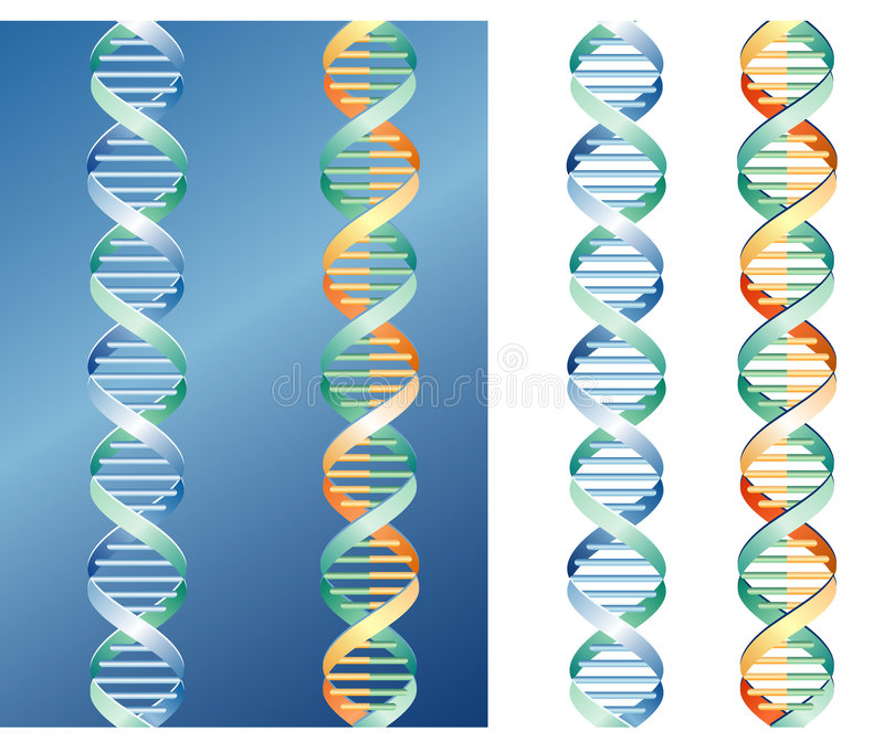 De grafiek van DNA stock illustratie