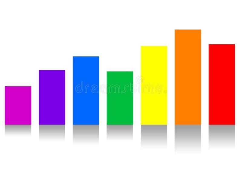 De Grafiek van geldfinanciën royalty-vrije stock afbeelding