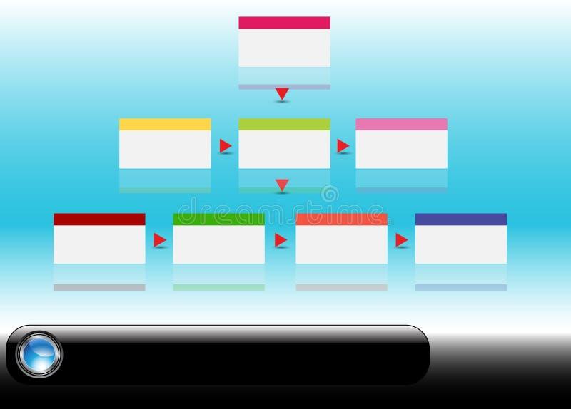 De Grafiek van het team vector illustratie