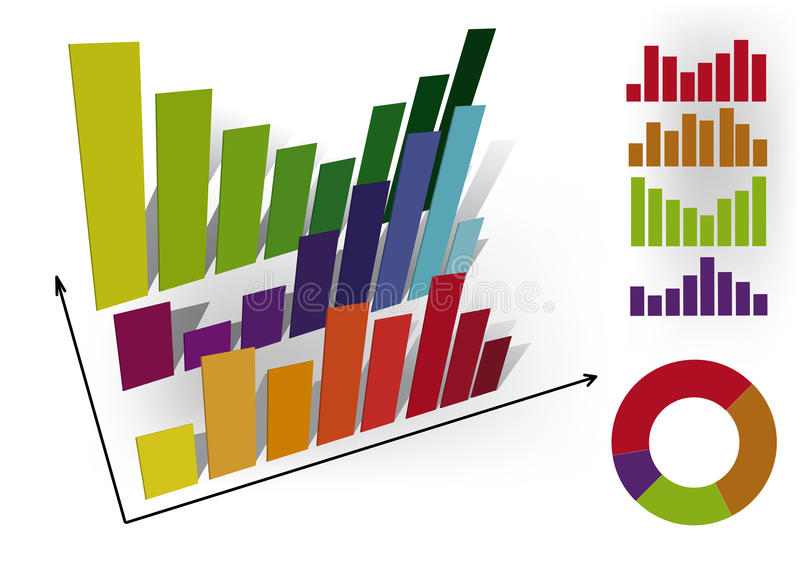 De grafiek van Infographic. stock illustratie